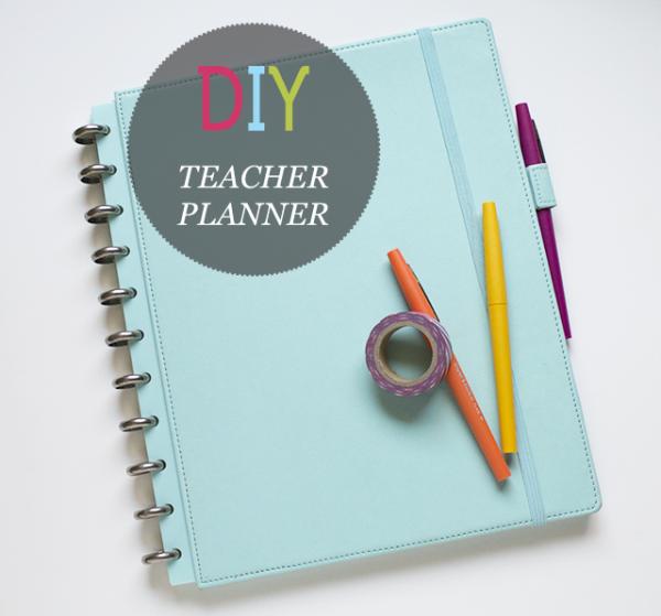 DIY Teacher Planner/Binder