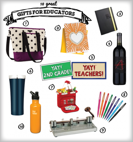 10 Great Gifts for Educators | Ms. Houser