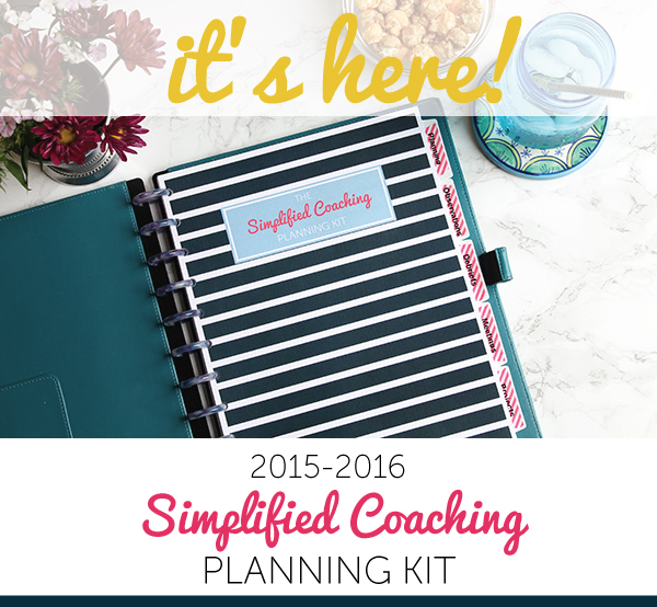 Simplified Coaching Planning Kit