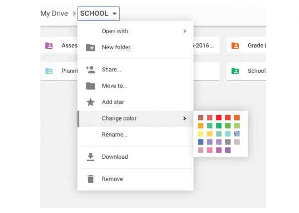 Organizing-Google-Drive-Colors