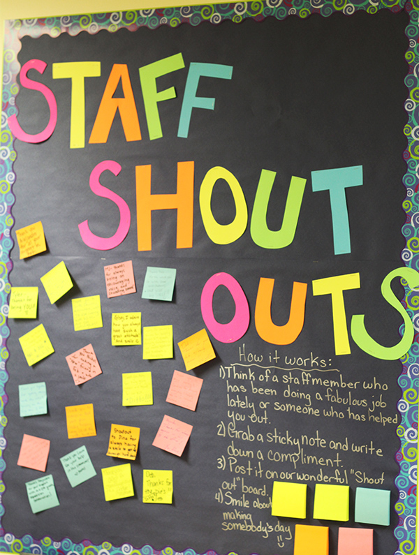 surprising Thank You Bulletin Boards Ideas Part - 6: Teacher Appreciation Week