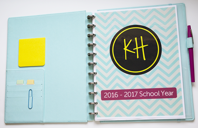 DIY Teacher Planner/Binder | Ms. Houser on personalized day planner, letter size planner, printable planner, d*i*y planner, daily planner, 3 prong planner, monthly planner, business planner, small three-ring planner,