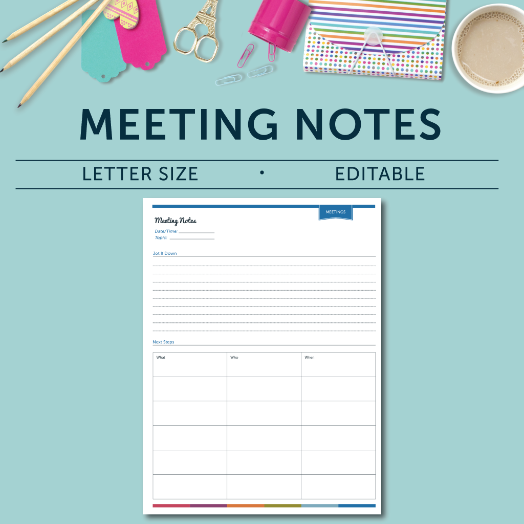 meeting notes ms houser