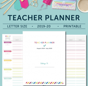 Teacher Planner - Cover