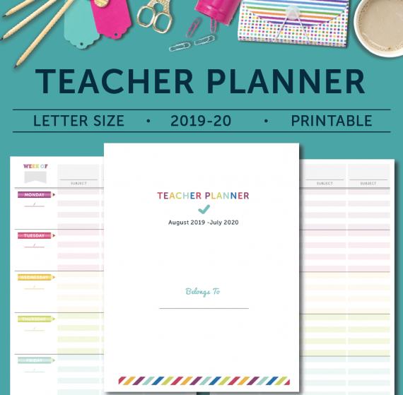 Teacher Planner - Cover