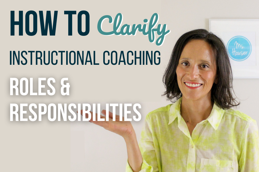 instructional coaching roles and responsibilities
