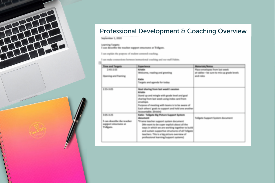 how to introduce yourself as a new instructional coach